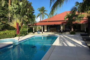Welcome to our outdoor pool, perfect place to relax during your pilates retreat